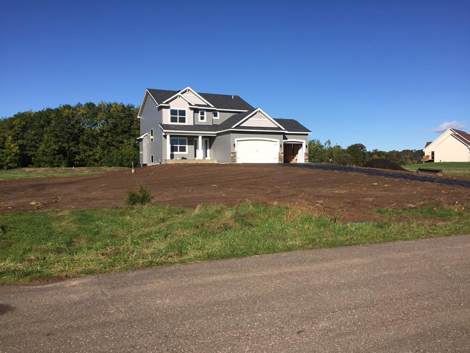 before a hydroseeding project