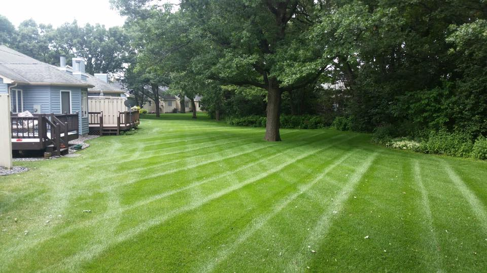 commercial mowing service