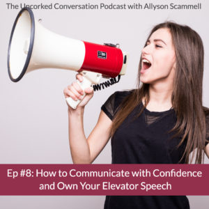 Episode 8 How to Communicate with Confidence + Own Your Elevator Speech