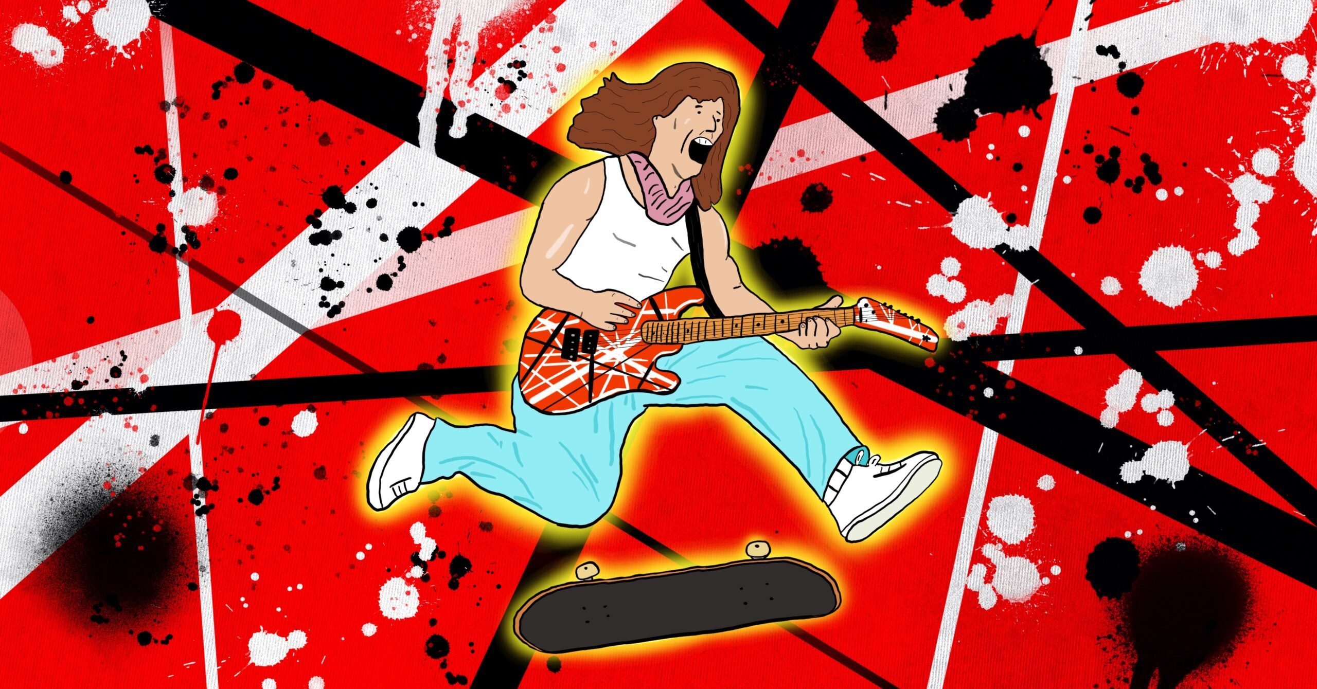 Eddie Van Halen's Contribution To Skateboarding