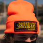 Orange Knit Beanie
