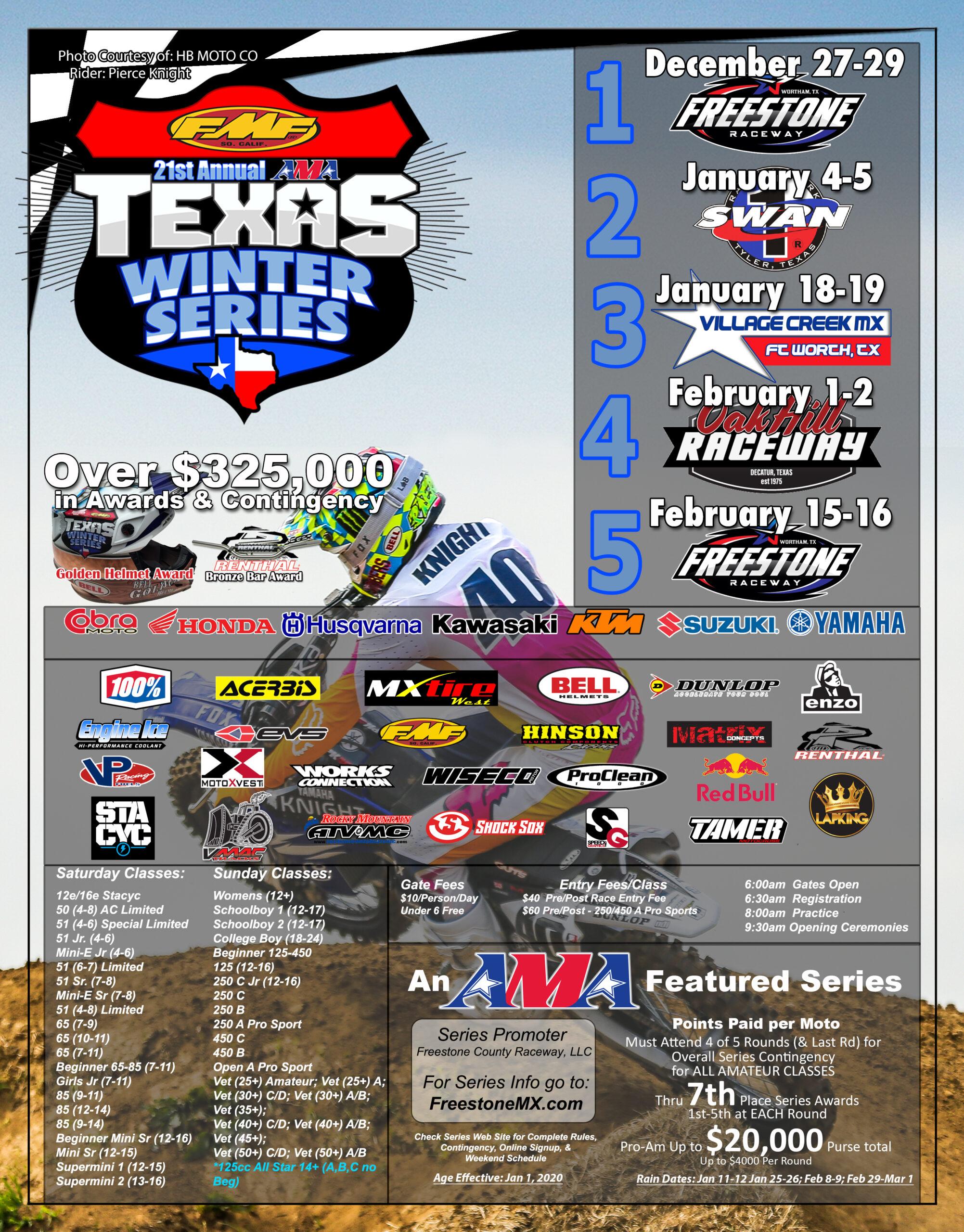2020 AMA Texas Winter Series