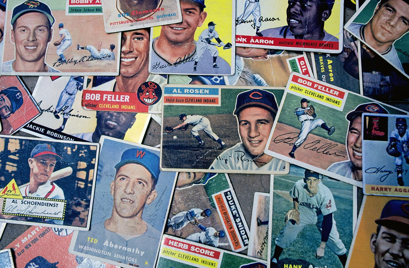 Baseball Card Collections and Values