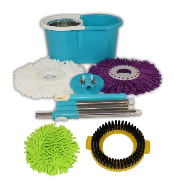 Special Blue Mop and Bucket