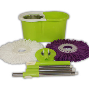 Green Mop and Bucket Package