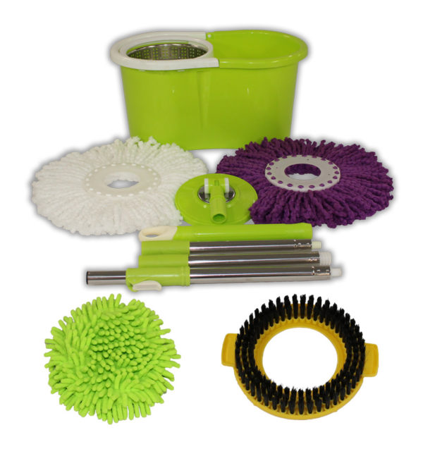 Special Green Mop and Bucket