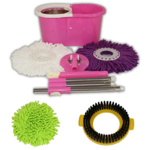 Special Pink Mop and Bucket