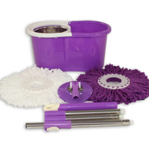 Purple Mop and Bucket Package