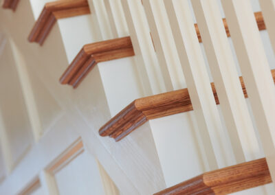 Staining & Painting Stairwell