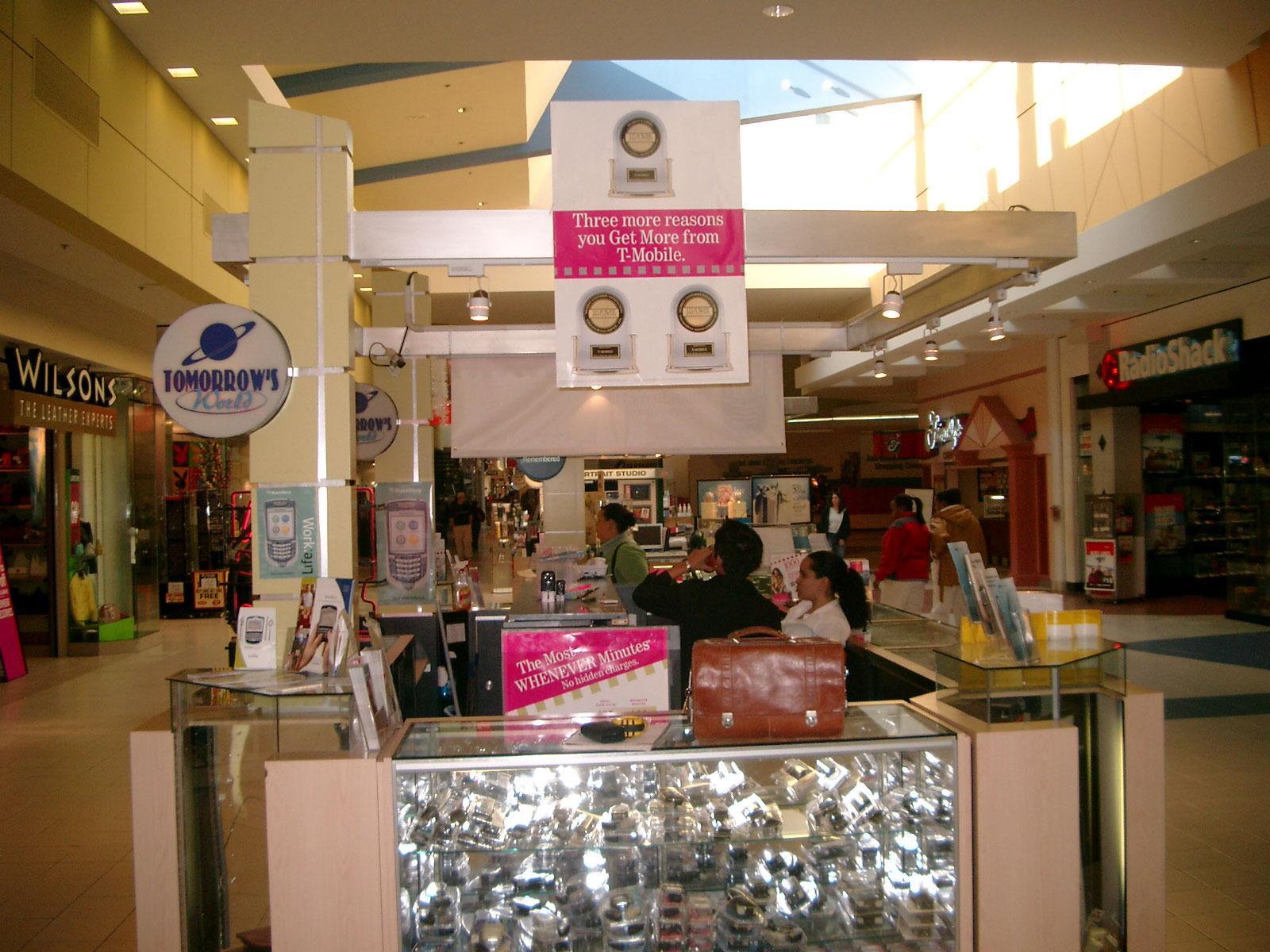 mall popup