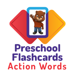 Preschool Flashcards: Action Words