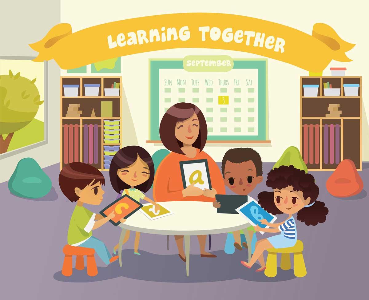 Great Preschool Game – 3D Action Words App