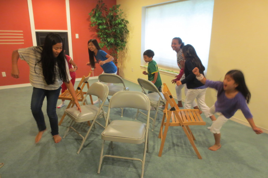 Musical chairs!