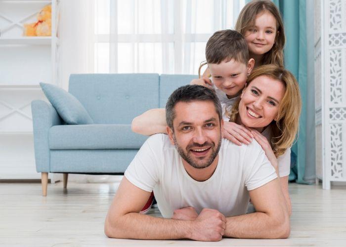 Sonrisas en familia: Actividades para niños en casa