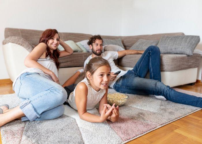Disfruta de películas en familia en cuarentena