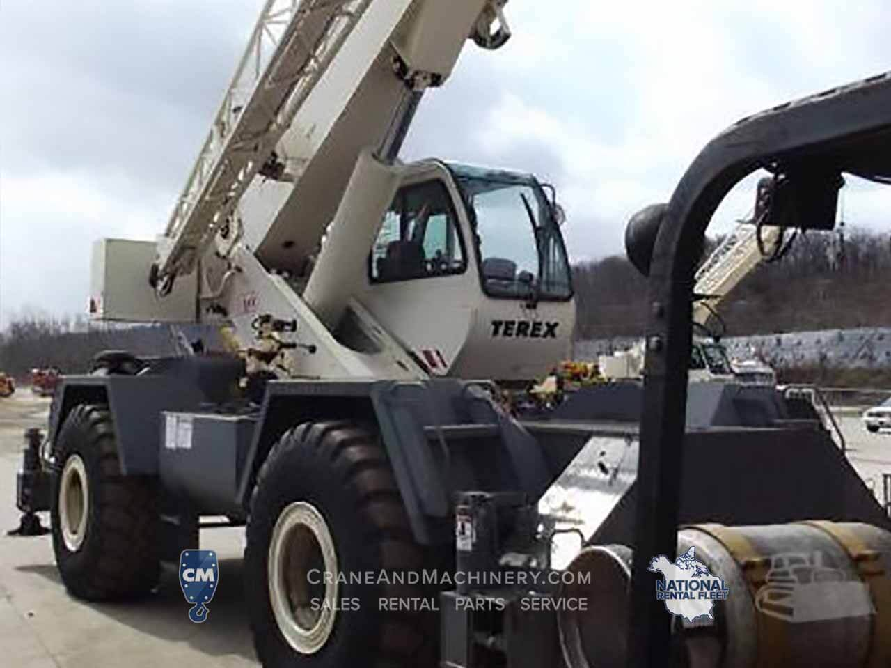 Terex RT 335 -Terex RT Crane rentals for Chicago, and North America. Long term and short term rentals available. Purchase new or used Terex RT cranes at Crane & Machinery