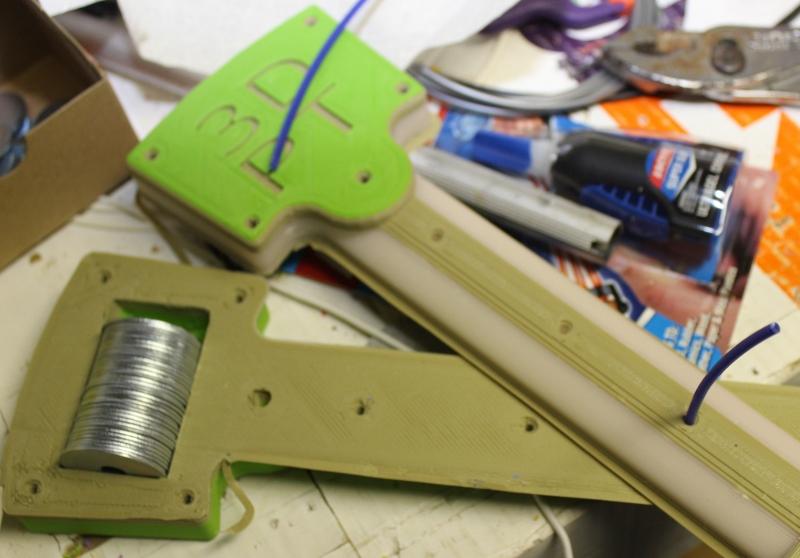 3D mallet being built