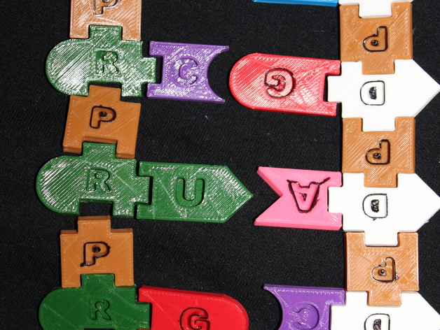DNA and RNA Tiles