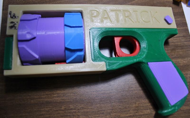 3D printed revolver, non firing