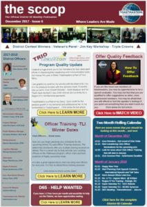 Dec 2017 Newsletter