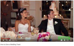 Wedding Toast Video