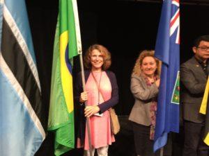 Ellen Flag Ceremony