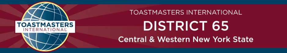 Toastmasters District 65