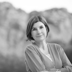 Black and white Author Photo