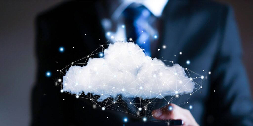 información de la nube