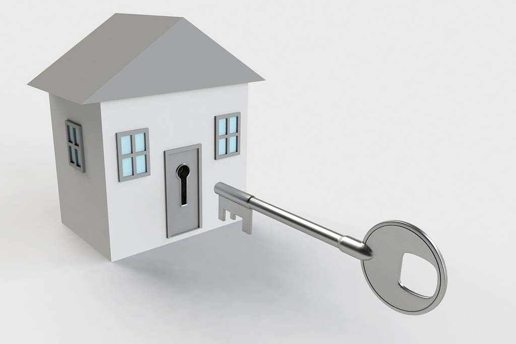 key to your home
