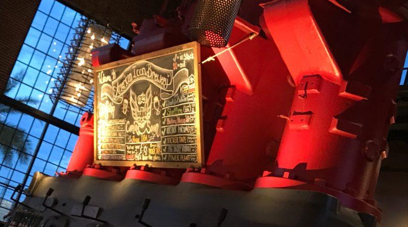 Old Diesel Engine turned Brewery