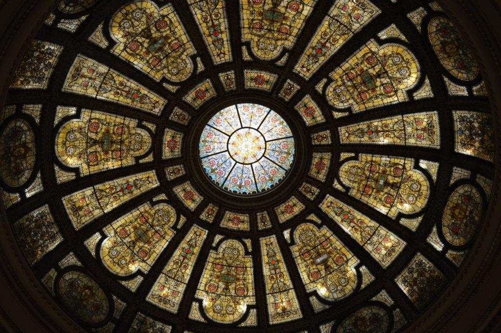 Chicago Cultural Center Grand Army Republic rotunda