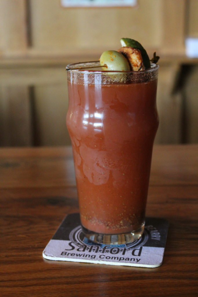 Proud Mary (Bloody Mary) at Sanford Brewing