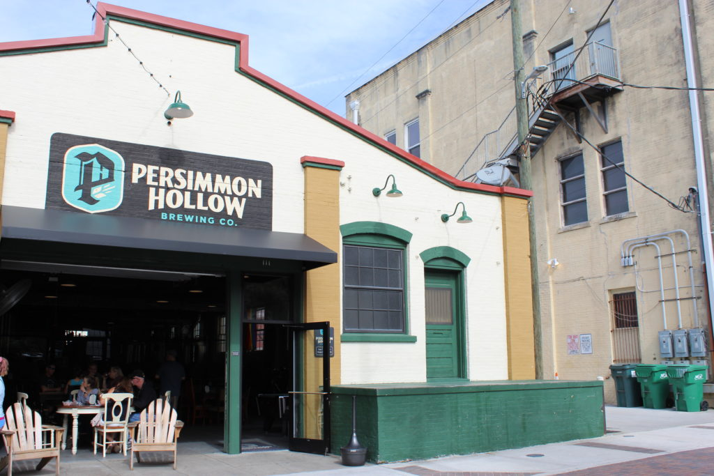 Persimmon Hollow Brewing Company building