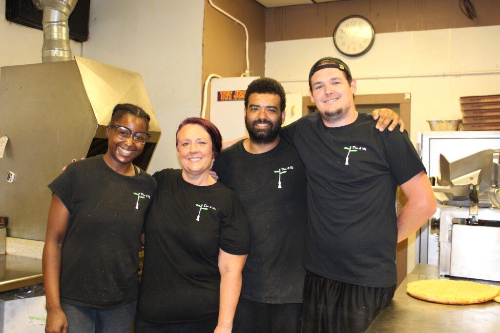 Dan & Vi's team of employees