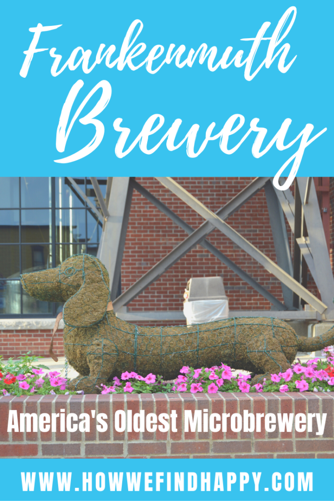 Frankenmuth Brewery mascot Frankie