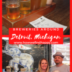 Breweries in Detroit Area pinterest image
