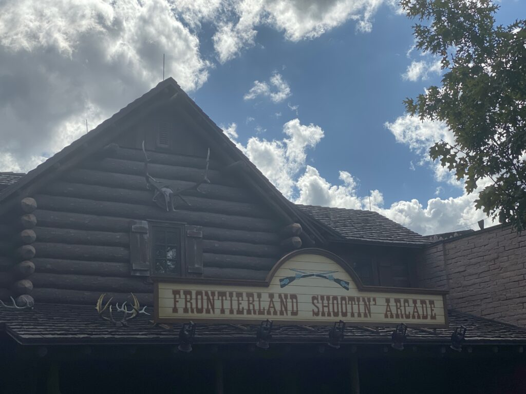 Magic Kingdom Original Attraction Frontierland Shooting Arcade