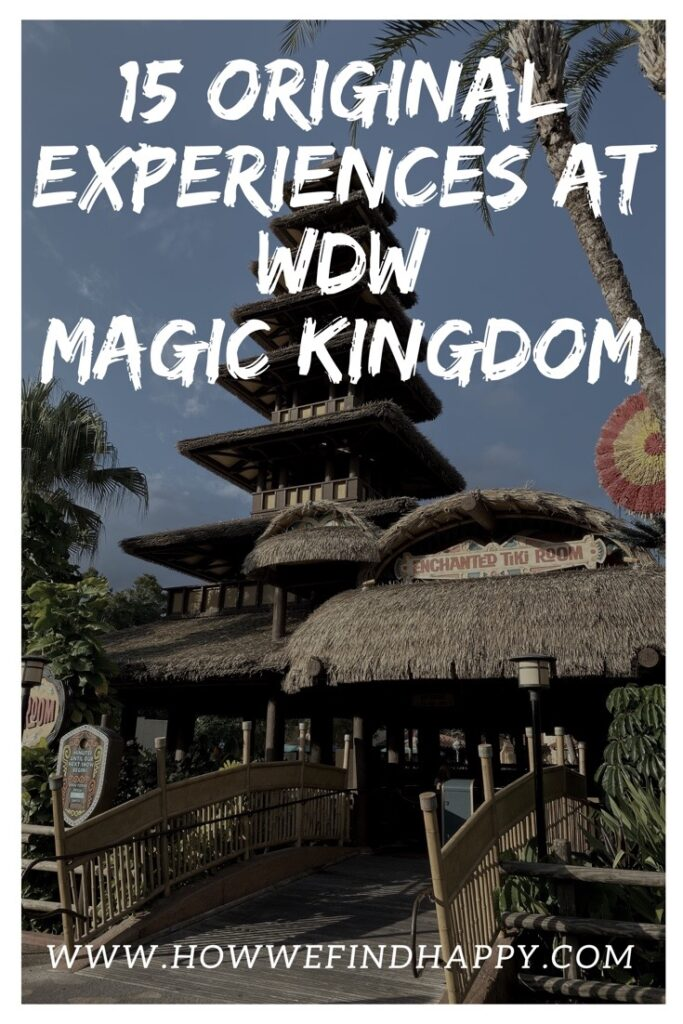 Magic Kingdom Original Attractions Pinterest image