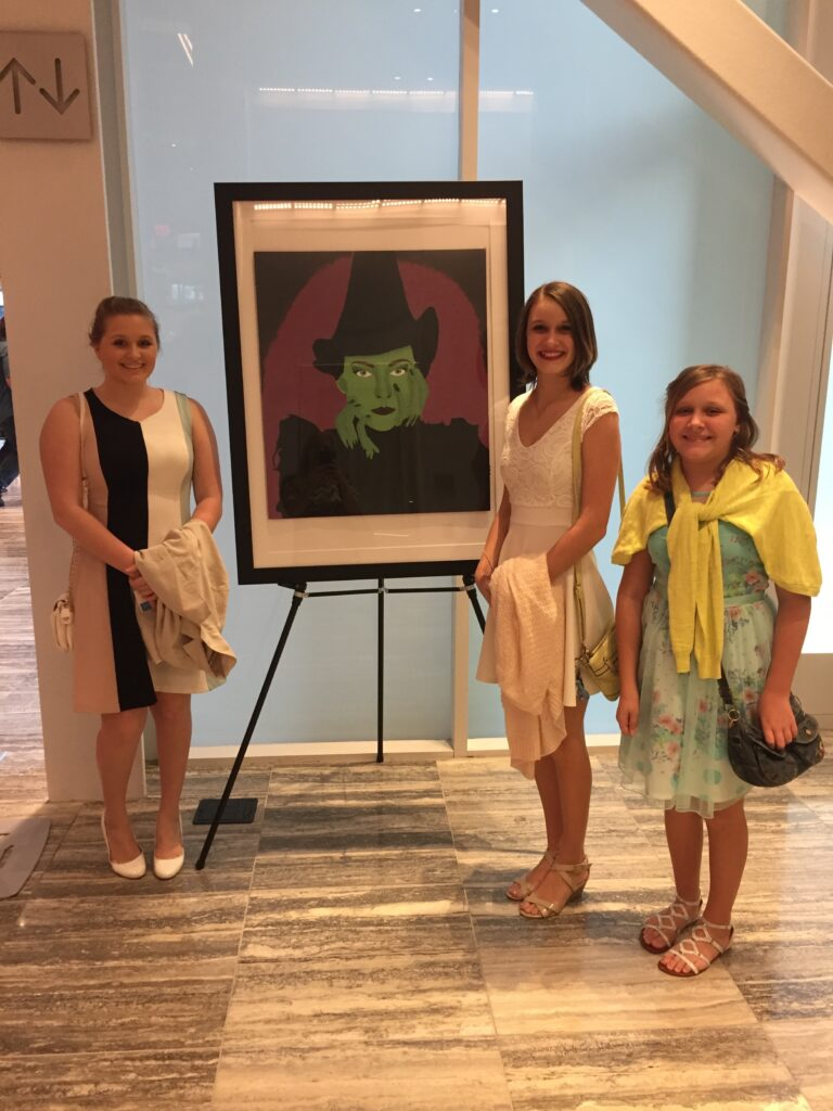 Teen girls at Wicked in Dr Phillips Center Orlando