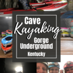Cave kayaking in Kentucky