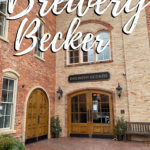 Historic Italian French doors at Brewery Becker