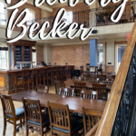 Second floor of Brewery Becker