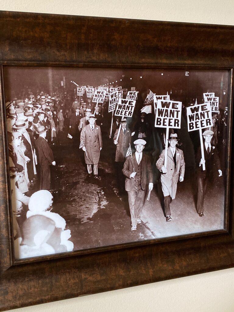 Prohibition protesters picture