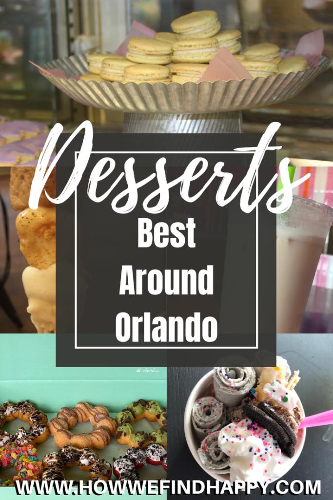 Best Desserts around Orlando