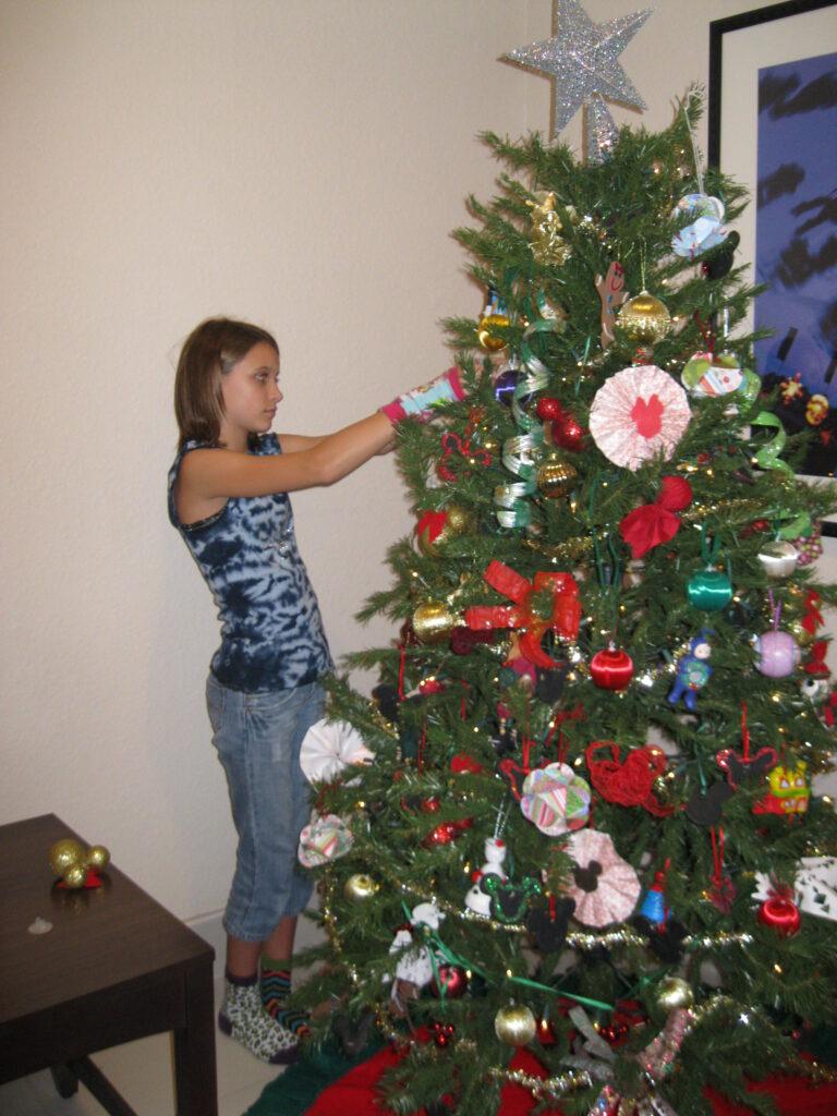 Decorating at GKTW