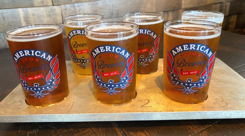 Flight of Beer from American Icon Brewery