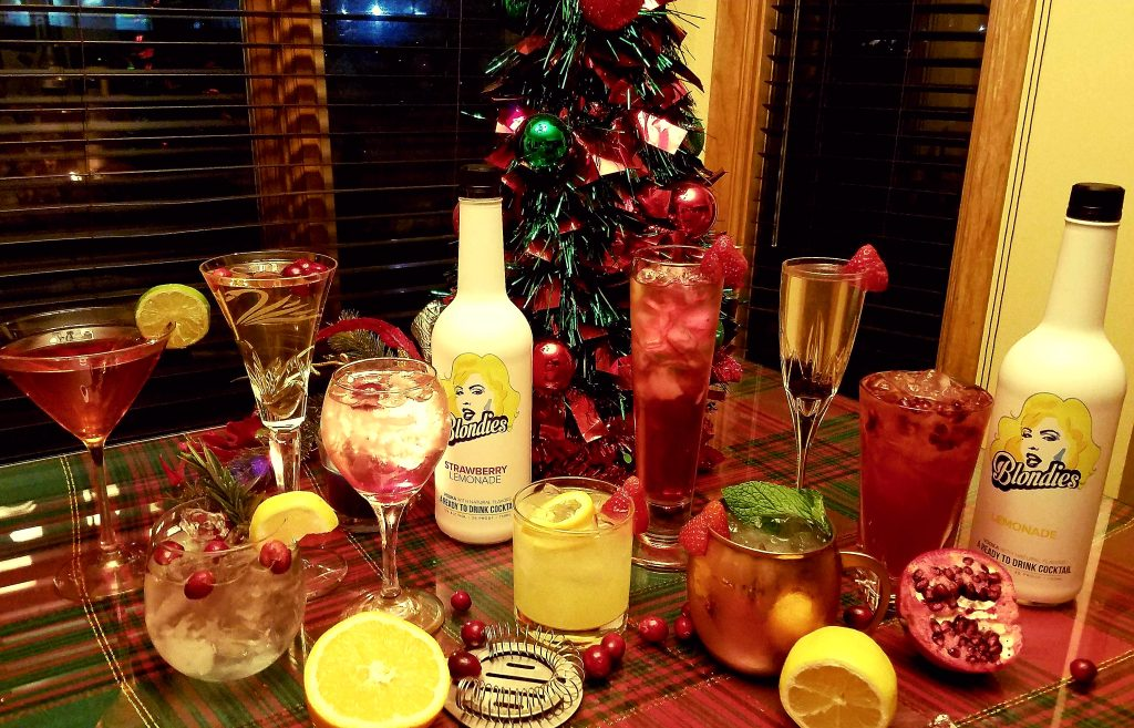 8 Must-Try Holiday Cocktail Recipes using Blondies