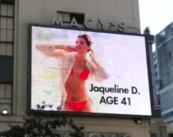 Macy's Megatron advertisement for 2011 Wilhelmina 2011 40+ Model Search