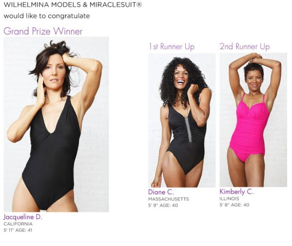 Wilhelmina 2011 40+ Model Search Winners